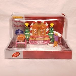 Lemax Gingerbread Countdown Table Accent Village